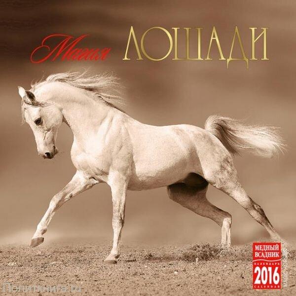 """Календарь на 2016 год на спирали """"Магия лошади"""" (КР23-16020)"""