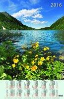 """Календарь на 2016 год листовой """"Озеро в горах"""" (КН10-16003)"""