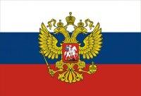 Кружка. Флаг и герб России
