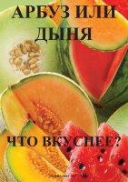 Арбуз или дыня. Что вкуснее?