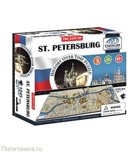 Пазлы 4D Санкт-Петербург , 1245 элементов.
