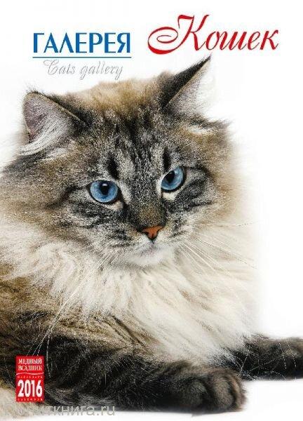 "Календарь на 2016 год на спирали ""Галерея кошек"" (КР20-16301)"