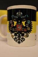 Кружка. Флаг и герб Российской Империи №2