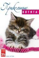 """Календарь на 2016 год на спирали """"Прикольные котята"""" (КР21-16016)"""